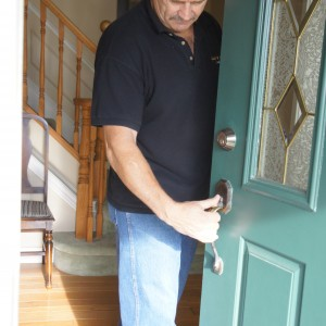 Norm Turbide from Lock R Up Inc. will fix your broken locks